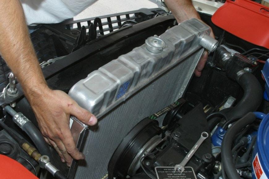 Ремонт системы охлаждения автомобиля